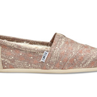 LIGHT BROWN WOOL THANKFUL WOMEN'S CLASSICS