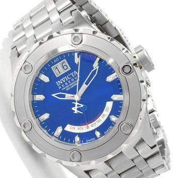 Invicta 1583 Men's Specialty Reserve Swiss Made Blue Dial Watch