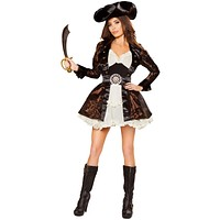 Girl's Pan Pirate Halloween Costume