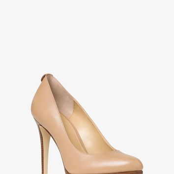 Georgia Leather Pump | Michael Kors