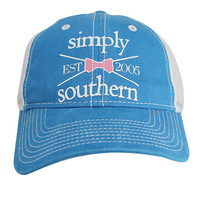 Simply Southern Trucker Hat - Blue