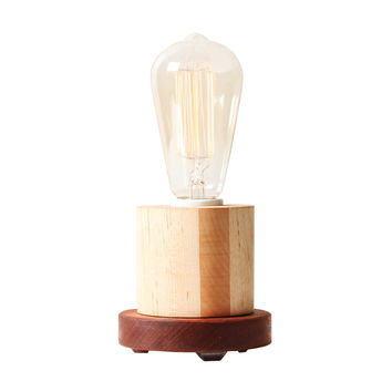 Handmade Edison Colorblock Table Lamp