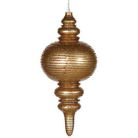 Christmas Ornament - Gold Finial