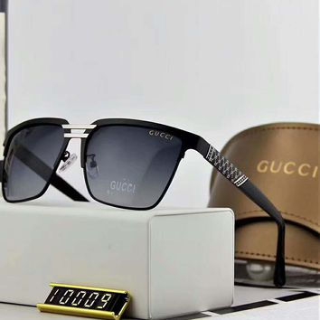 Gucci polarized metal men's large frame sunglasses F-A-SDYJ NO.2