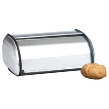 ONETOW Brushed Steel Bread Box  Euro