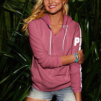 Perfect Split Neck Pullover - PINK - Victoria's Secret