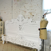 Painted Cottage Shabby  French White  Romantic  Bed BD22
