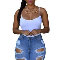 Blue Denim Bermuda Shorts-Out of Stock
