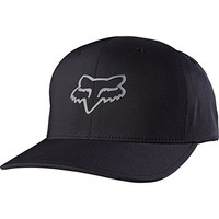 Fox Men's Reckoned Flexfit Hat, Black, Large/X-Large