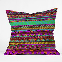 Aimee St Hill Bright Tribal Throw Pillow