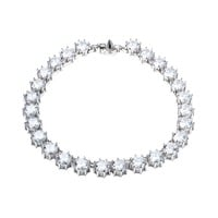 Eddie Borgo Circle Estate Necklace - Cubic Zirconia Necklace - ShopBAZAAR