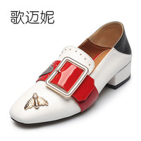 womens pumps mules low heel shoes women dress shoes loafers ladies genuine leather designer shoes woman pumps fetish high heels