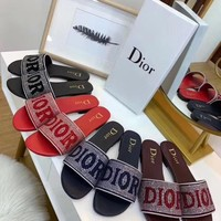 Dior Ladies'flat-soled slippers