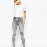 Cheap Monday High Spray Destroyed High Waist Superskinny Jeans