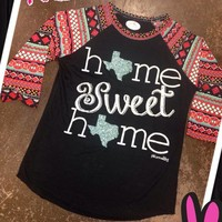 Home Sweet Home Aztec Tee