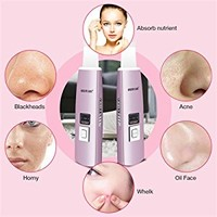 KINGDOMCARES Facial Skin Scrubber Gentle Peel Dermabrasion Rejuvenation Microdermabrasion Blackhead Removal Peeling Comedone Extractor Suction Remover Pore Cleanser Exfoliate Acne Renewal