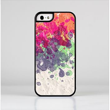 The Vintage WaterColor Droplets Skin-Sert Case for the Apple iPhone 5/5s