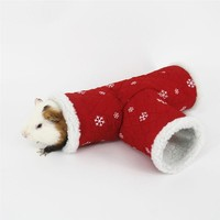 Small Tunnel Toy of Warm Fleece for Winter