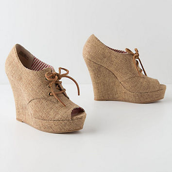 Lissa Lace-Up Wedges
