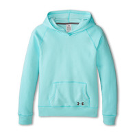 Under Armour Kids Rival Cotton Solid Hoodie (Big Kids) Veneer/Graphite - Zappos.com Free Shipping BOTH Ways