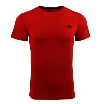 The North Face Men's Mountain T-Shirt - Red/Black