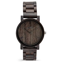 Wooden Watch   The Curtis Ebony
