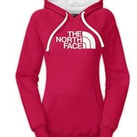 The North Face Half Dome Hoodie for Women in Rose Red CG9J-F0G
