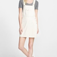 Women's Alexa Chung for AG 'The Gillian' Overalls Dress (Sulfur Natural)