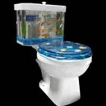 Fish 'n Flush Toilet-Tank Aquarium Kit (Today's Sale Price!) - $171.50