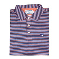 Striped Channel Marker Polo in Nectar by Southern Tide
