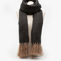 Fringeship Scarf in Black