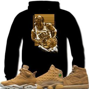 Jordan 6 Wheat Golden Harvest 13s Sneaker Hoodies - EPIC