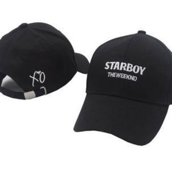 VORON 2017 new The Weeknd Starboy Hats and Stargirl Hats XO Dad Hat Baseball Caps Snapback Hip Hop Caps Men and Women Summer