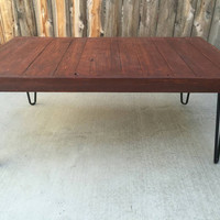 Hennessy coffee table:  Coffee table , Pallet wood , Reclaimed, hand crafted, wooden table, furniture