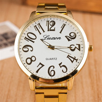 Comfortable Vintage Fashion Quartz Classic Watch Round Ladies Women Men wristwatch On Sales = 4661804740