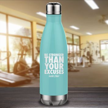 Be Stronger Laser Etched Water Bottle