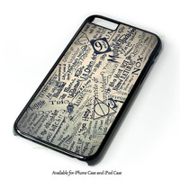 Harry Potter Quotes CollageiPhone 4 4S 5 5S 6 6 Plus Case and iPod Touch 4 5 Case