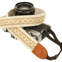 cross lace style Fashion Camera Neck Shoulder Strap for Film SLR DSLR RF Cute