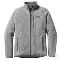Men's Better Sweater® Fleece Jacket in Stonewash | Lakeside Cotton