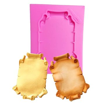Frame Cake Border Silicone Molds Cupcake Fondant Cake Decorating Tools Candy Clay Chocolate Gumpaste Moulds  T1067