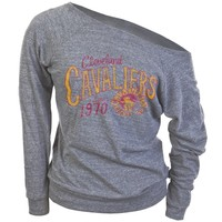 Cleveland Cavaliers - 1970 Off-Shoulder Juniors Long Sleeve - Large