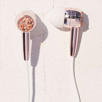 Skinnydip Pyrite Earbud Headphones - Urban Outfitters