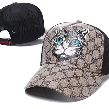Womens Mens GG Hat Gucci CAT Baseball Cap Gift