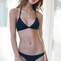 Body Glove Vision Mesh Inset Fixed Triangle Bikini Top at PacSun.com