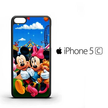 mickey mouse wallpaper Y0327 iPhone 5C Case