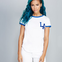 LA Ringer Tee | Wet Seal