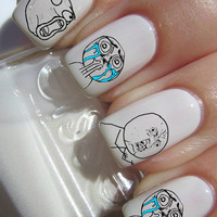 MEME Facebook Nail Decals
