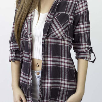 Eslee Hooded Flannel