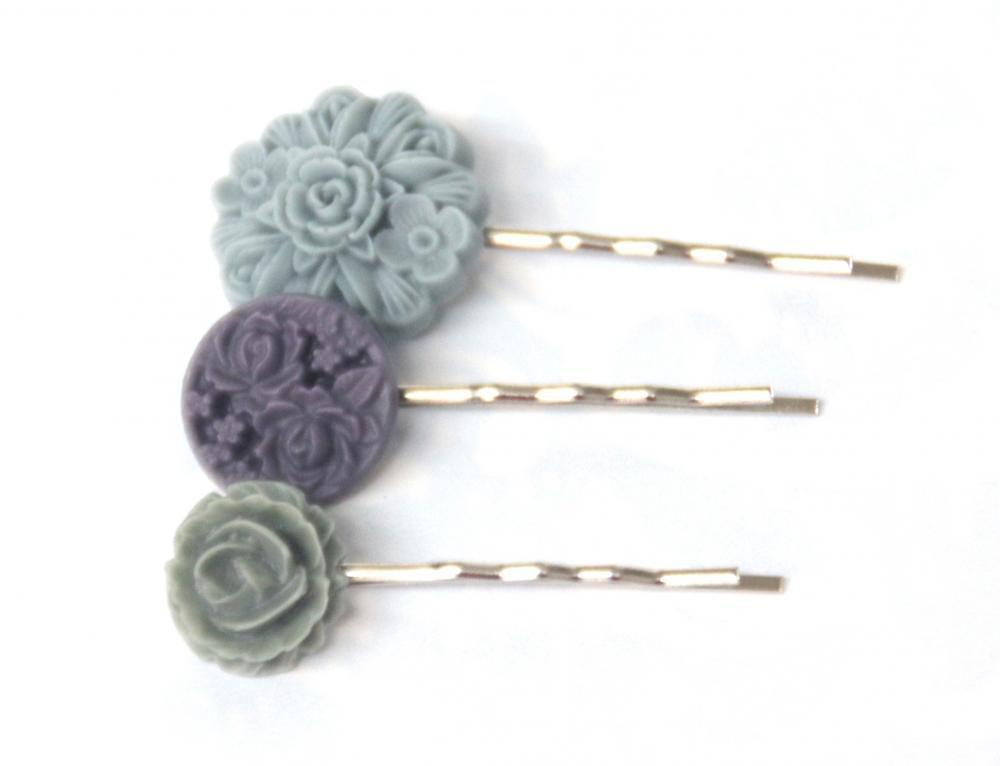 Flower Bobby Pins: Lavender Charm F.. on Luulla