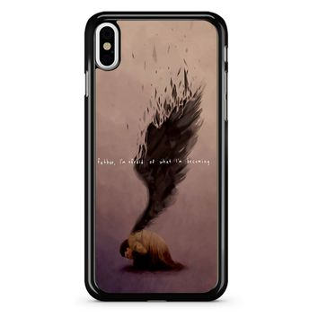 Supernatural Castiel Quote iPhone X Case